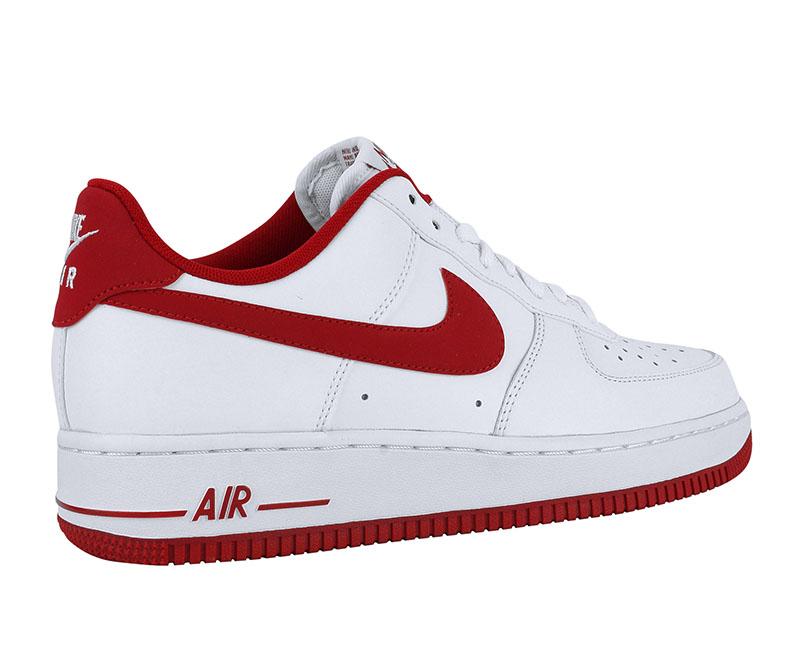 air force 1 roja y blanca