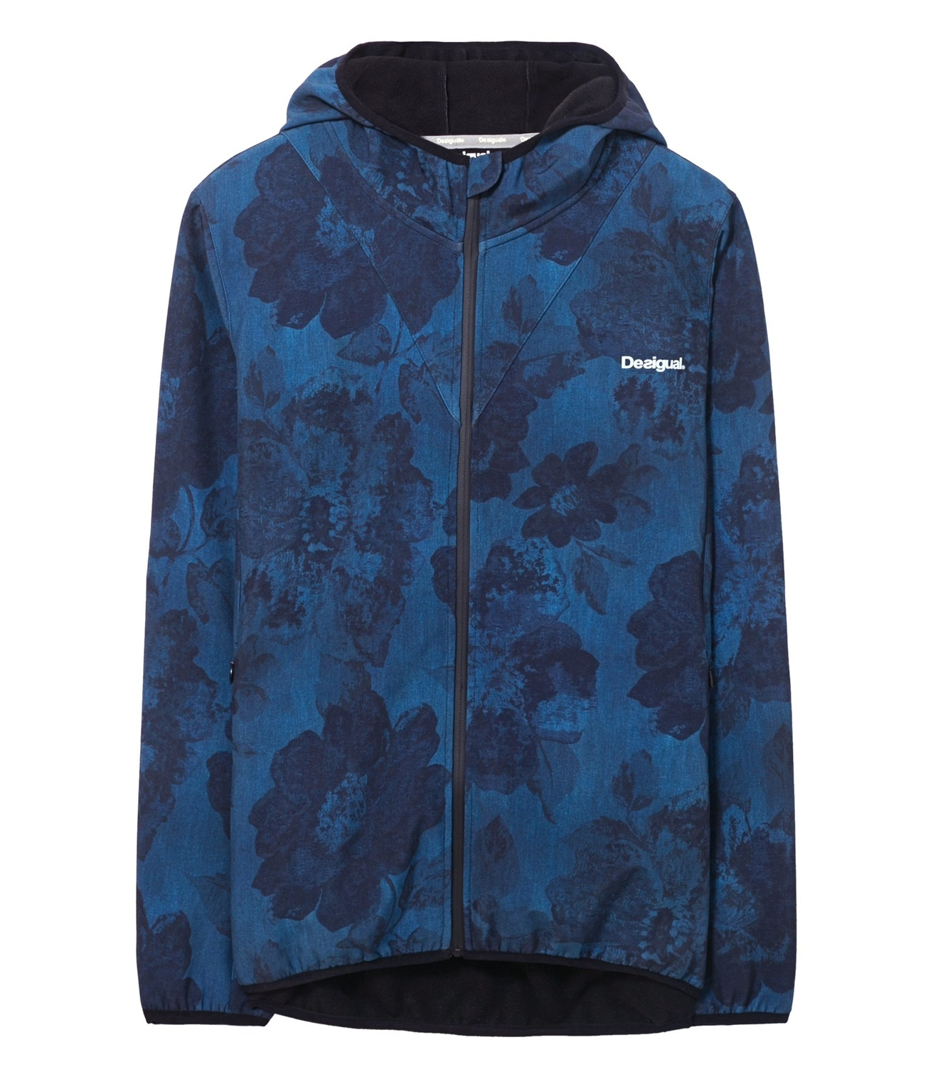 Desigual Jacket Soft Shell Dark Denim