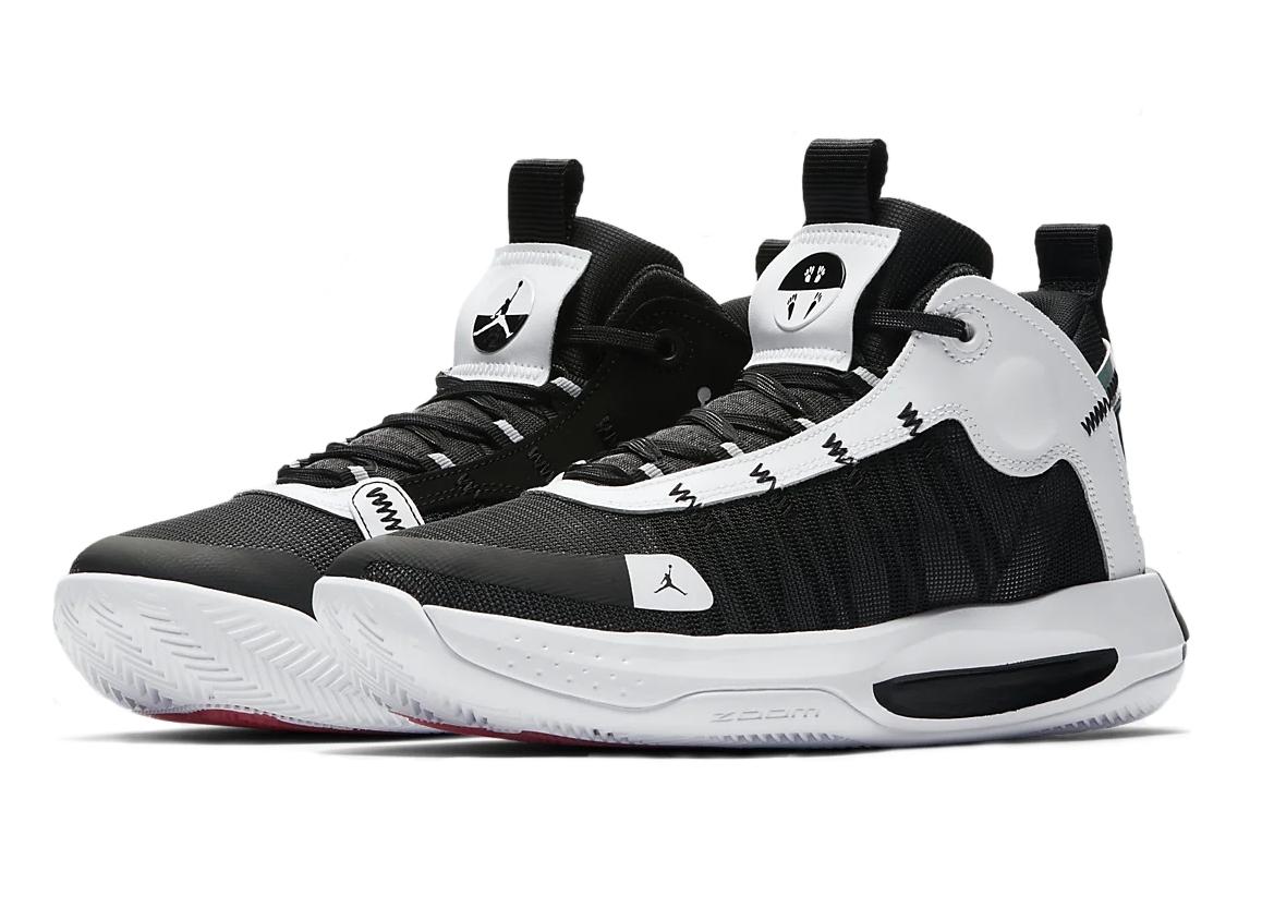 Jordan Basquetebol Jumpman 2020 Nike Branco Preto 40.5