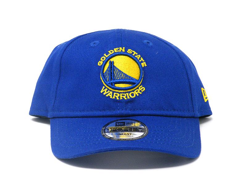 New Era Golden State Warriors 9FORTY Cap Infants 41fba580514