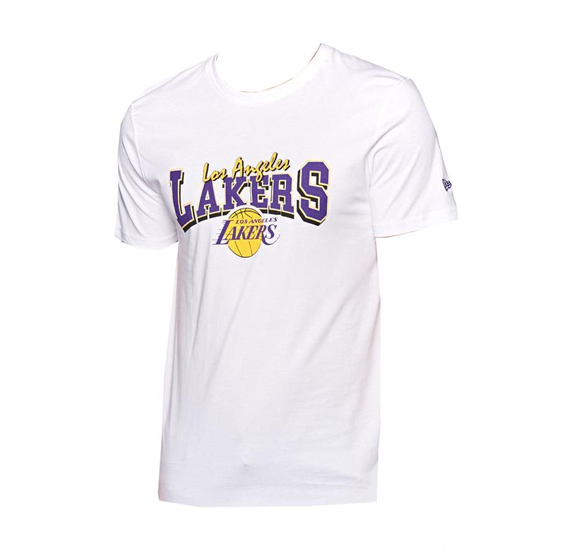 more photos 94ae9 7e872 New Era Los Angeles Lakers Apparel Tee WHI - manelsanchez.pt