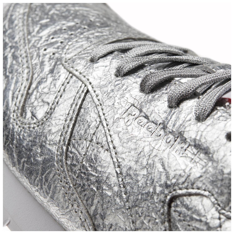 6aa2086c5997ff Reebok Classic Leather HD Women´s (Silver Metallic Snow)