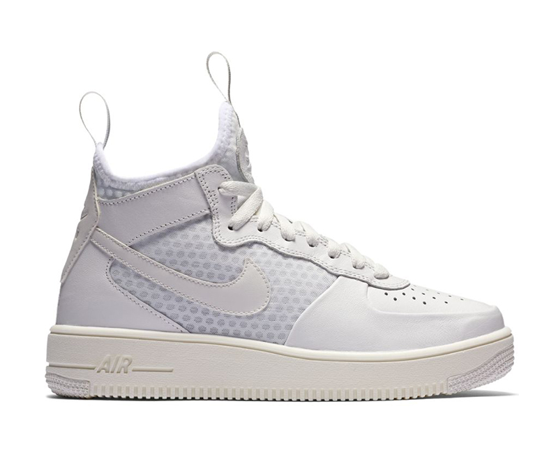 Women's Nike Air Force 1 Ultraforce Mid Top (100white)